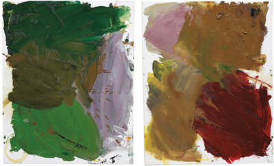Josh Smith, 'Two works: Untitled (Palette Painting)', 2007