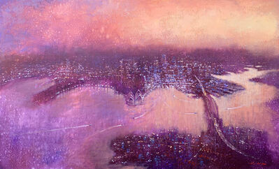 David Hinchliffe, 'Aerial Sydney Looking East', 2019