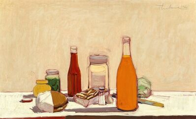Wayne Thiebaud, 'Orange Drink', 1961