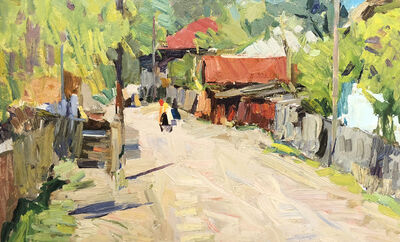 Fedor Zakharov, 'Promenade', 1978