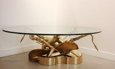 Arman, 'Coffee Table Cello & Saxophone', 1992