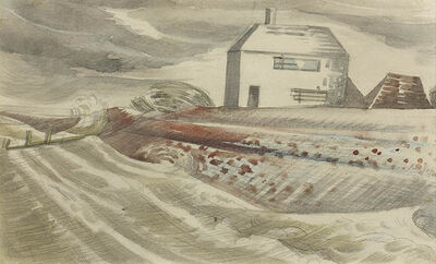 Paul Nash, 'Dymchurch', 1922