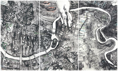 Qiu Zhijie, 'Bird's Eye Animals Find Glass Most Incomprehensible / Core Secrets / The Third Path', 2013