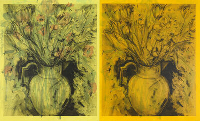 Jim Dine, '2 British Vases', 2013