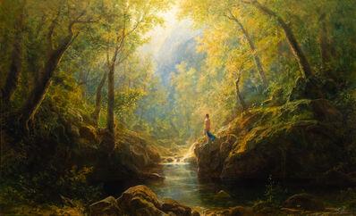 Erik Koeppel, 'Bather in the Woods', 2021