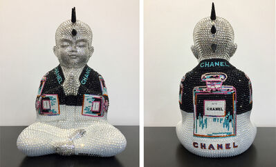 Metis Atash, 'CHANEL No. 5 in black and white feat. Warhol', 2018