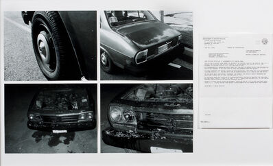 Edgar Arceneaux, 'Morgan Fisher's Peugot 01/06/06 (photo collage) and Dispersion of a Unified Field (video)', 2006-2007