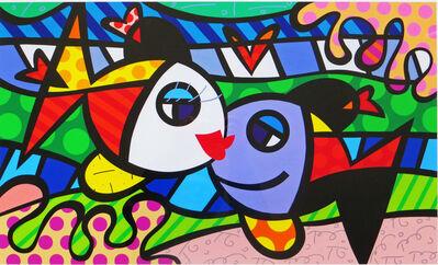 Romero Britto, 'Deeply In Love', 2006