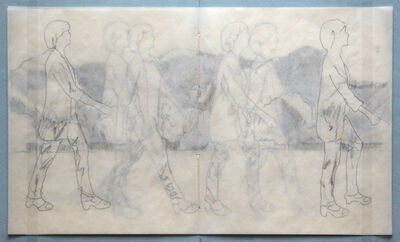 Peik Larsen, 'Walking/Trace ', 2015