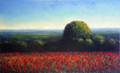 John Stockwell, 'Red One', 2015