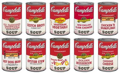 Andy Warhol, 'Campbell's Soup Can II Portfolio ', 1960s printed later