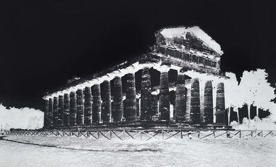 Vera Lutter, 'Temple of Athena, Paestum, V: October 8, 2015', 2015