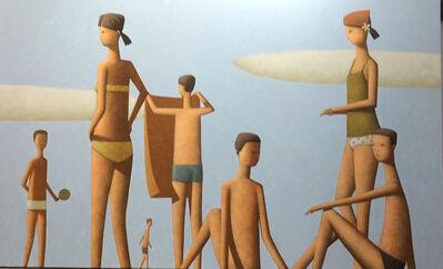 Craig Parnaby, 'Saturday Morning Beach Painting', 2019