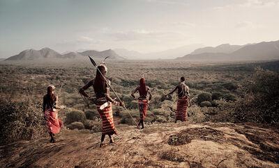 Jimmy Nelson, 'XVII 230 Nyerere, Loingu, Lewangum & Lepokodou Kaisut Desert Kenya - Samburu, Kenya', 2010