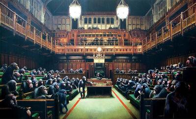 Banksy, ''Monkey Parliament', 2009', 2009
