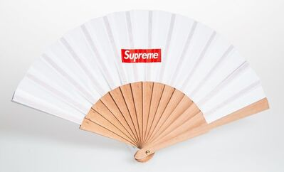 Supreme X Sasquatchfabrix, 'Folding Fan (White)', 2016