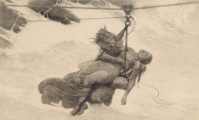 Winslow Homer, 'Saved', 1889