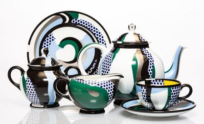 Roy Lichtenstein, 'Tea Set, set of six works', 1984