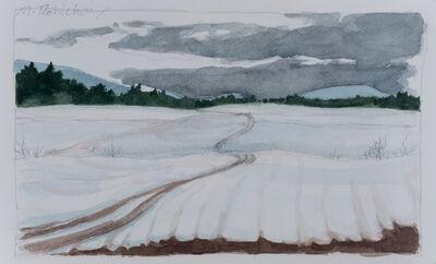 Marguerite Robichaux, 'Study for Winter Field', 2019
