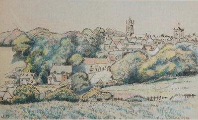 Lucien Pissarro, 'Shaftesbury', 1916