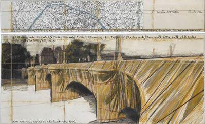 Christo, 'The Pont Neuf Wrapped', 1982