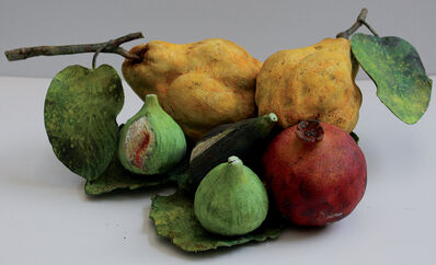 Rafael Muyor, ' Two quinces, one pomegranate, three figs', 2020