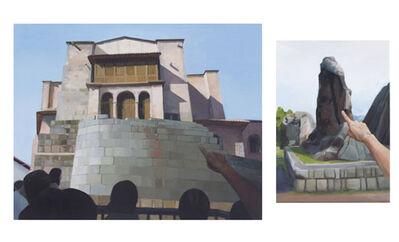 Sandra Gamarra, 'Señalando I (Quenqo) y Señalando III (Qoricancha) ', 2012