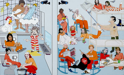 Nancy Chunn, 'Scene V: The Jail, Detail: Women's Wing Upper', 2016