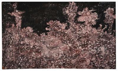 Jean Dubuffet, 'Paysage tavelé aux arbres', 1954