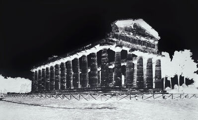 Vera Lutter, 'Temple of Athena, Paestum, V: October 8, 2015', 2015