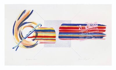 James Rosenquist, 'Windscreen Horizon', 1978