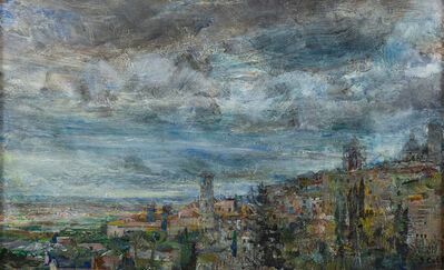 John Cobb, 'Assisi, in Heavy Weather off the Mediterranean', 2018