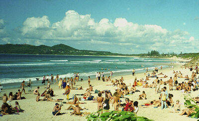 Anonymous, 'Bolongo Beach, Byron Bay, Australia, 1996', 1996