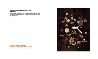 Cornelia Parker, 'MEDIEVAL TO MODERN, UK detector finds', 2008