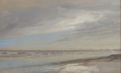 William Trost Richards, 'Beach Scene', Late 19th century