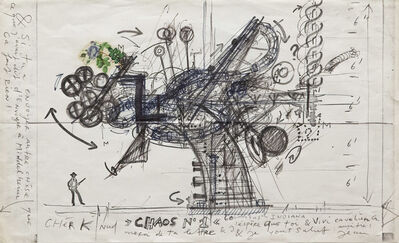 Jean Tinguely, 'Chaos n.1', 1925-1991