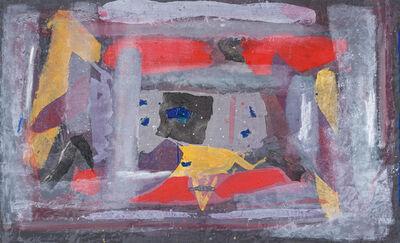 Sam Nhlengethwa, 'Abstract with Yellow Triangle'