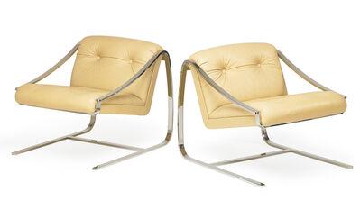 Brueton, 'Pair of lounge chairs, USA', 1980s