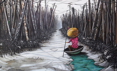 Pez, 'Urban Mangrove', 2018