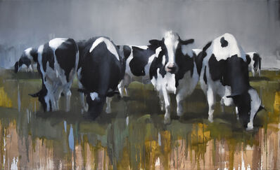 Andrew Hunt, 'Cows', 2016