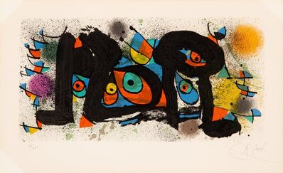Joan Miró, 'Sculptures', 1974