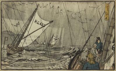 B. J. O. Nordfeldt, 'Fishing Boat Scene #173', 1906