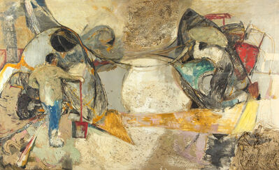 José Antonio Dávila, 'Formas y figuras', 1965