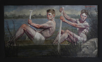 Mark Beard, 'Two Rowers ', date unknown