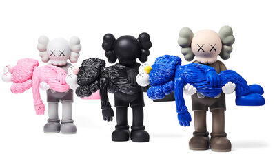 KAWS, 'KAWS GONE: Complete Set of 3 (KAWS gone companions)', 2019