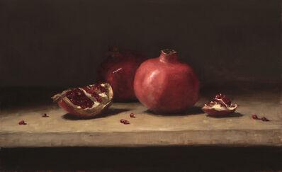 Sarah Lamb, 'Pomegranates on a Table', 2015