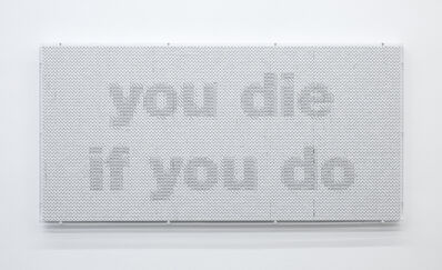 Evariste Richer, 'You die if you do, you die if you don't', 2019