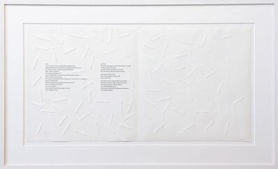 Günther Uecker, 'Vom Licht', 1974