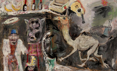 James Martin, 'Tomato Crate & Camel'