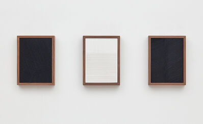 Anthony Pearson, 'Untitled (Etched Plaster Triptych)', 2015